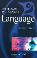 Penguin Dictionary of Language