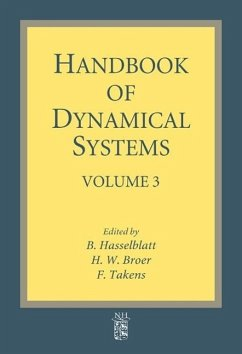 Handbook of Dynamical Systems, Volume 3 - Herausgeber: Broer, H. Hasselblatt, B. Takens, F.