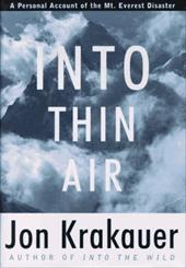Into Thin Air: A Personal Account of the Mount Everest Disaster - Krakauer, Jon