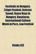 Festivals in Hungary: Sziget Festival