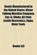 Goods Manufactured in the United States: Victor Talking Machine Company