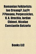 Romanian Folklorists: Ion Creang?