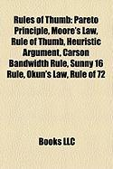 Rules of Thumb: Moore's Law