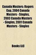 Canada Masters: Rogers Cup, 2004 Canada Masters - Singles, 2003 Canada Masters - Singles, 2001 Canada Masters - Singles