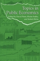 Topics in Public Economics - David Pines; Efraim Sadka; Itzhak Zilcha