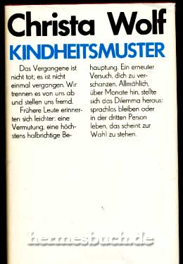 Kindheitsmuster. Roman. - Wolf, Christa