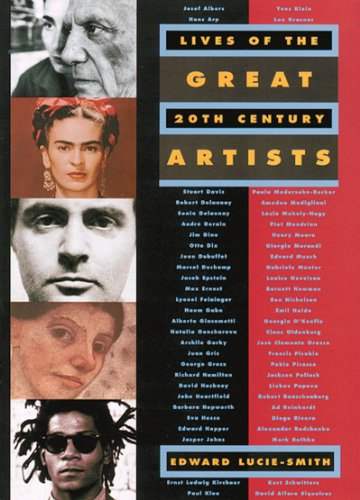 Lives of the Great 20th-Century Artists - Edward Lucie-Smith
